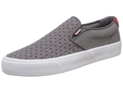 Superdry Dion slip-on moose grey