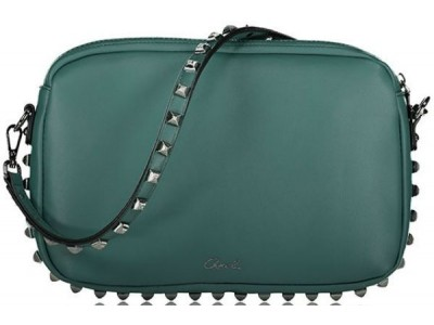 Axel Alinna bag with studs 1020-0401 010 petrol