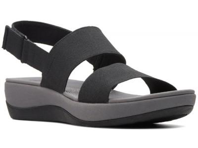 Clarks Arla Jacory 26125603 black elastic fabric