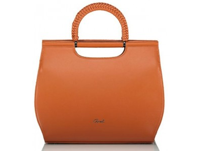 Axel Capella handbag with braided handles 1010-2470 025 camel