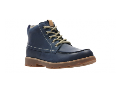 Clarks Comet Moon 26135932 navy leather