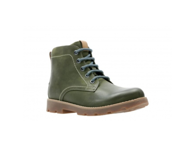 Clarks Comet Rock olive leather 26138440