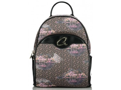 Axel Dreamland backpack zip pockets 1023-0259 003 black