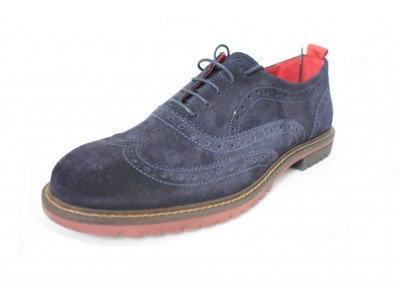 Kricket tommy1 blue suede