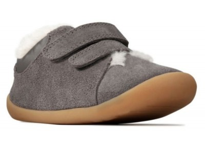 Clarks Roamer Craft T 26143453 grey suede
