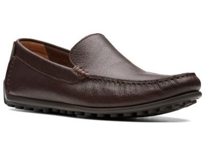 Clarks Hamilton Free dark brown leather 26141732