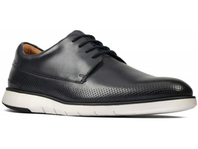 Clarks Helston Walk 26148259 navy leather