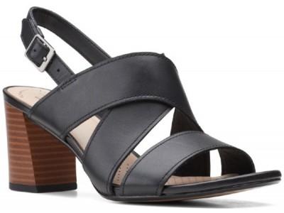 Clarks Jocelynne Bao 261598164 black leather