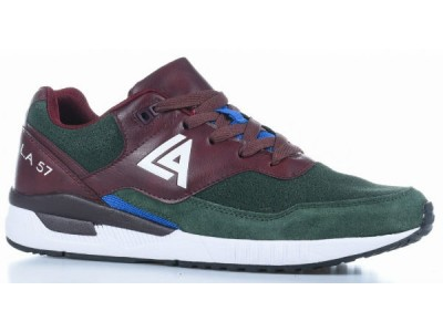 LA 57 LT-M70288-2 army green+wine red