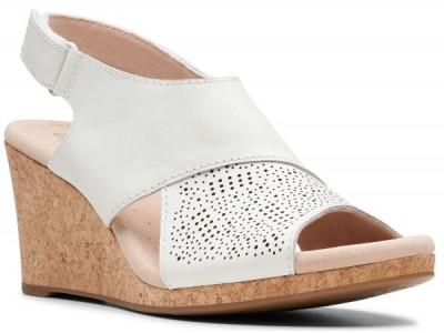 Clarks Lafley Joy 26145427 white leather