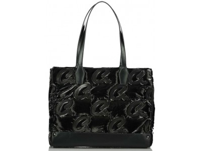 Axel Luna nylon shopper bag Axel monograms 1010-2515 003 black