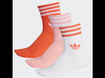 Adidas FM0638 MID-CUT CREW SOCKS 3pcs