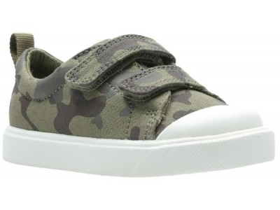 Clarks City Flare Lo T olive camo 26142315