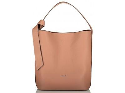 Axel Raffaela hobo bag and extra pouch 1010-2503 049 coffee
