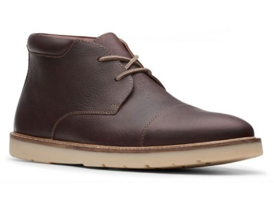 Clarks Grandin top 26146390 dark brown tumbled