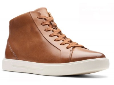 Clarks Un Costa Mid 26144644 tan warmlined leather