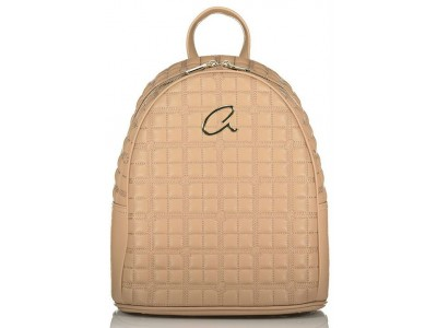 Axel Selina backpack quilted 1023-0257 001 beige
