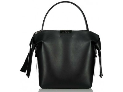 Axel Selma shoulder bag with knot 1010-2475 003 black