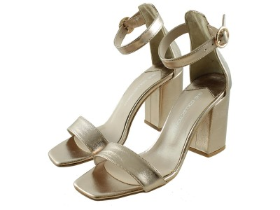 She collection blockheel gold