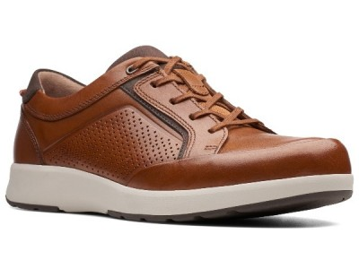 Clarks Un Trail Form 26140977 tan leather