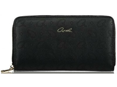 Axel Alder wallet with axel laser logo 1101-1279 003 black