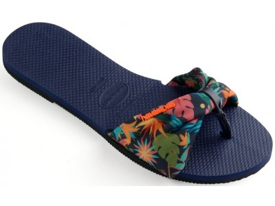 Havaianas You Saint Tropez 4140714.0555.F72 navy blue