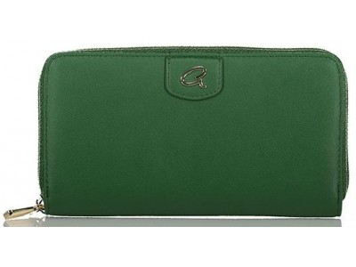 Axel Begonia Zip wallet 1101-1271 464 forest