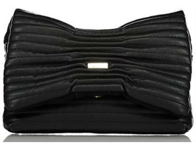 Axel Zoey envelope bag with frill 1020-0408 003 black