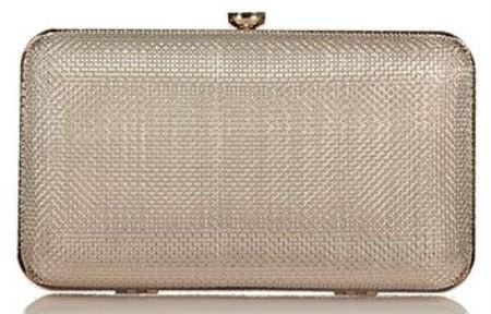 Axel Fidela mesh metal clutch bag 1005-1201 gold