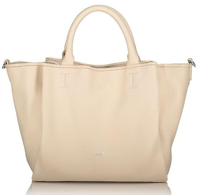 Axel Elvira handbag and long strap removable 1010-2366 cream