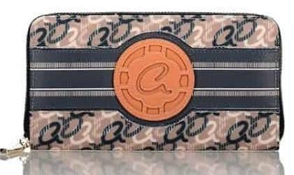 Axel cleo zip wallet 1101-1313 068 navy