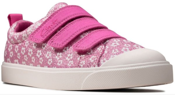 Clarks City vibe K 26149118 pink floral