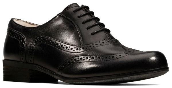 Clarks Hamble Oak 20346713 black leather