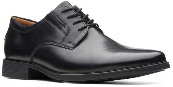 Clarks Tilden Plain 26110350 black leather