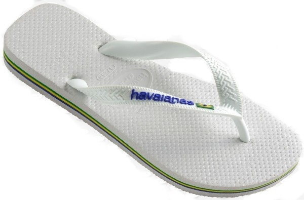 Havaianas Brasil Logo 4110850.0001.M18 white