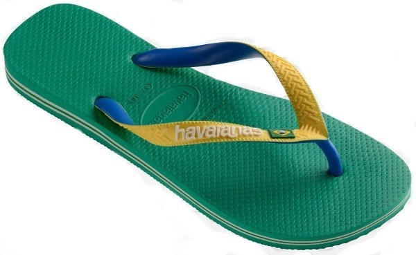 Havaianas Brasil Mix 4123206.2078.M18 tropical green