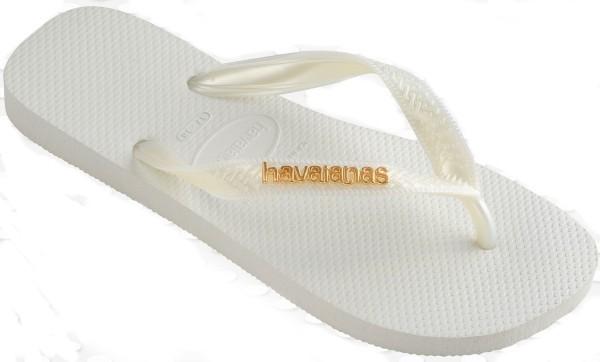 Havaianas Logo Metallic 4127244.001.F17 white
