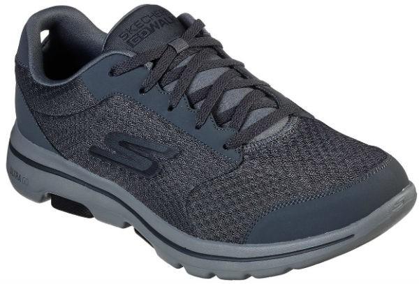 Skechers 55509 GOwalk 5™ - Qualify charcoal/black