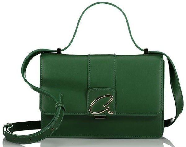 Axel Begonia crossbody bag A metal closing 1020-0399 464 forest