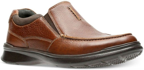 Clarks Cotrell Free 26131566 tobacco leather