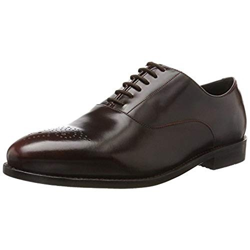 Clarks Ellis Vincent chestnut leather 26127381