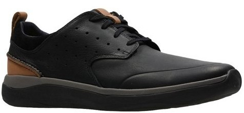 Clarks Garratt Lace black leather 26132299
