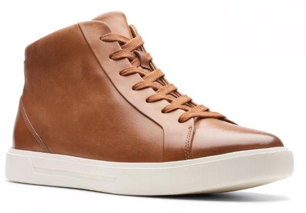 Clarks Un Costa Mid 26144644 tan warmlined leather