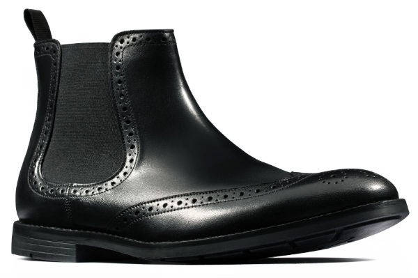 Clarks Ronnie Top 26144928 black leather