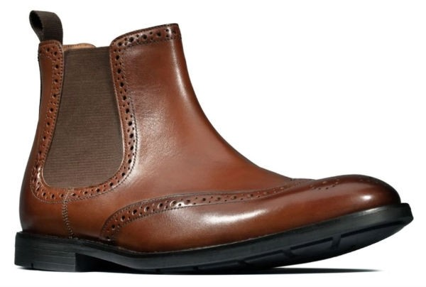 Clarks Ronnie Top 26144927 british tan leather