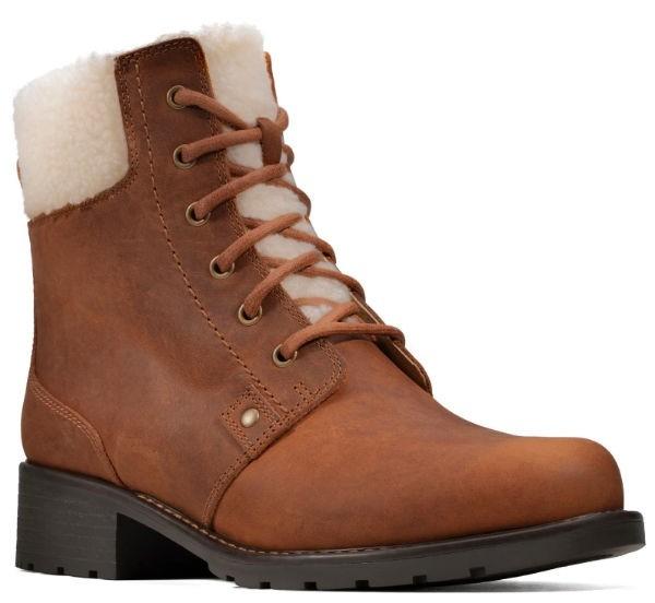 Clarks Orinoco Dusk 26146419 tan leather