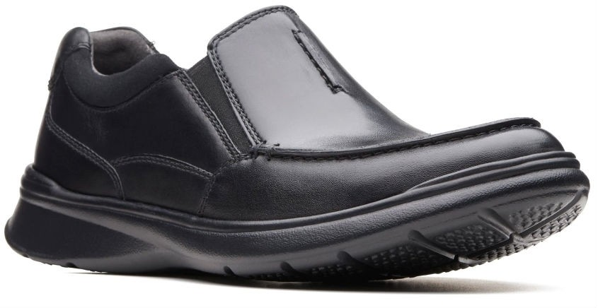 Clarks Cotrell Free 26137386 blk smooth leather