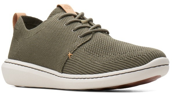 Clarks Step Urban Mix 26138174 khaki textile knit