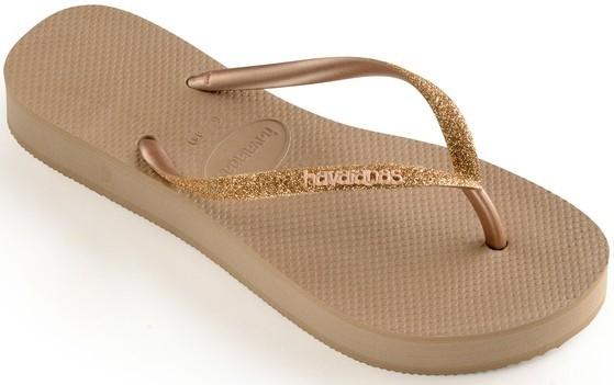 Havaianas Slim Flatform Glitter 4144764.3581.F72 rose gold