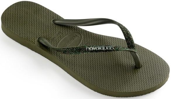 Havaianas slim glitter II 4146118.4896.F72 green olive